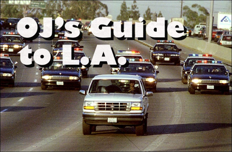 Here's how you can see L.A. the OJ Way