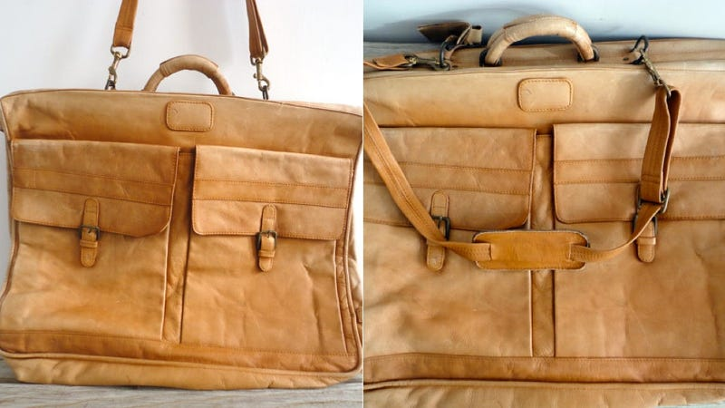This Handsome Leather Bag Will Make Even the Most Weary Traveler Look Good