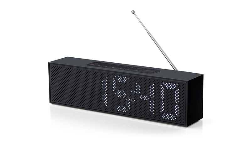 A Sleek Clock Radio for Rocking out to Top 40 Hits