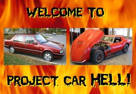 Project Car Hell: Lancia Thema or Baldwin Motion Corvette?