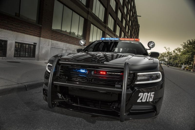The Sinister 2015 Dodge Charger Pursuit Is Robocop In Car Form