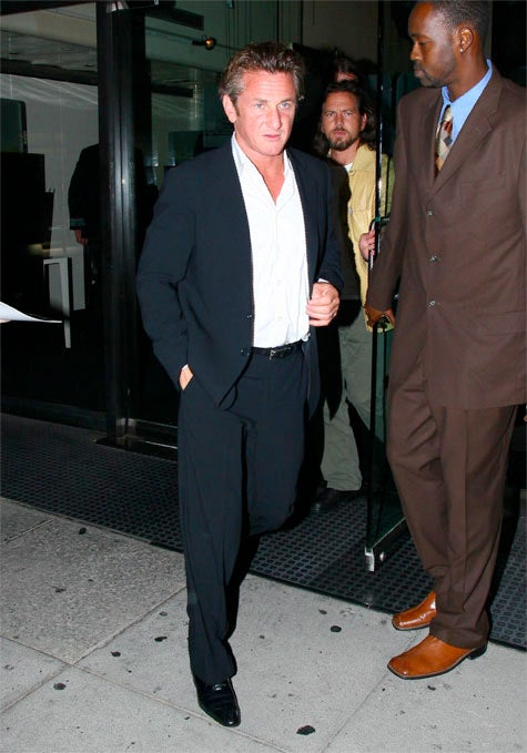 Sean Penn: Sunburned Or Stoned?