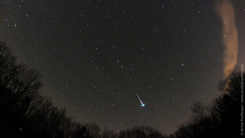 How to Best Watch the First Meteor Shower of the Year