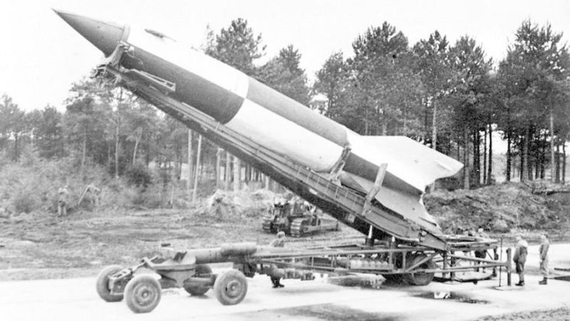 That time Polish partisans stole a Nazi V2 rocket