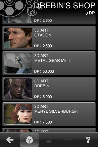 Hands On: Metal Gear Solid Touch iPhone App