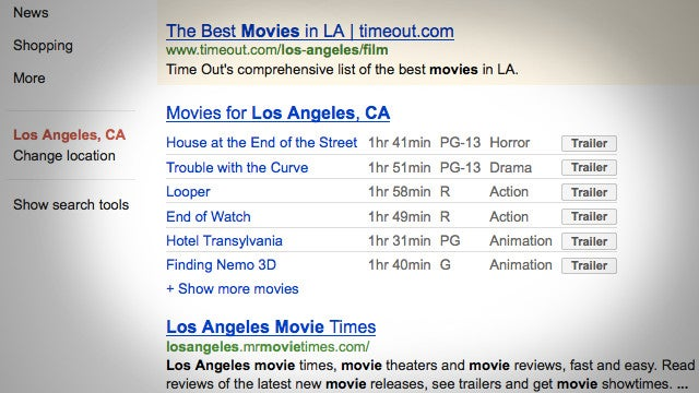 Google Adds Movie Trailers to Its Search Results