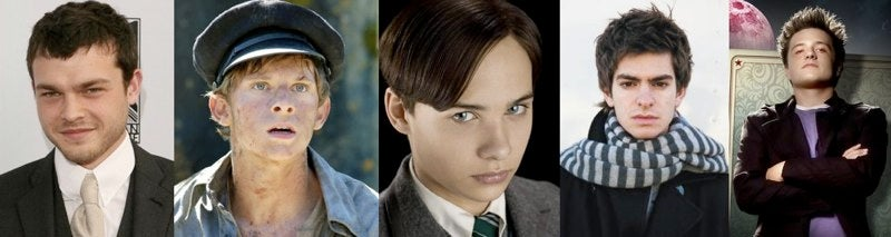 Which one of these actors is the new Spider-Man?