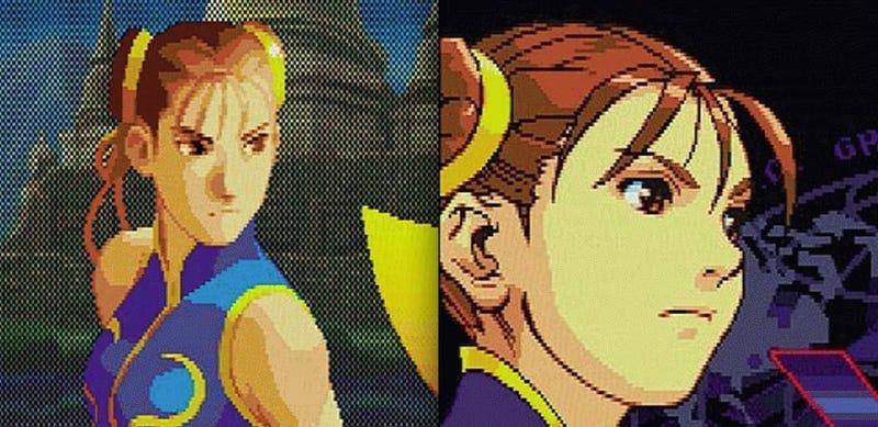 The Evolution Of Chun-Li's Face