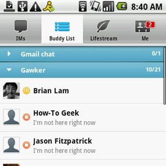 Official AIM App Also Brings Facebook Chat to Android