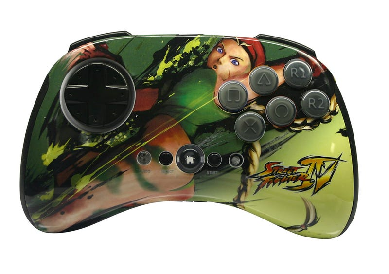 Mad Catz Street Fighter IV Controllers Round 2