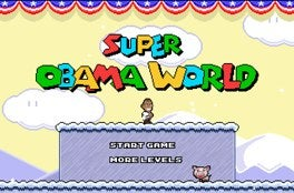 Now You Can Make Obama Clean Up The Icy Alaska Streets, Super Mario-Style
