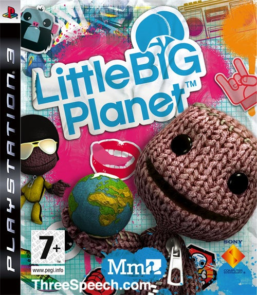 Here's Your LittleBigPlanet Box Art