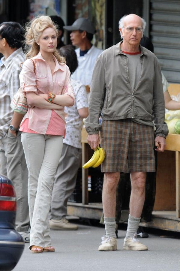 Evan Rachel Wood & Larry David: This Shit Is Bananas
