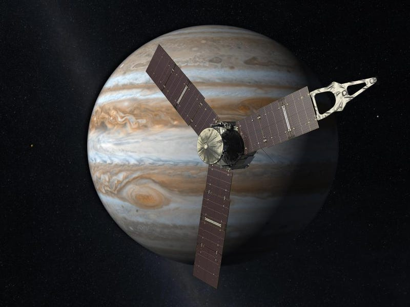 Just In Case You Didn't Realize How Big Jupiter Was...