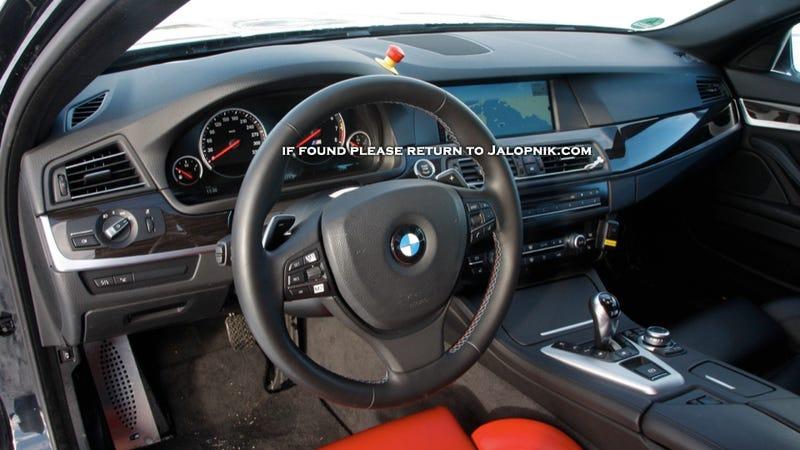 2012 BMW M5: Ice, Ice Baby