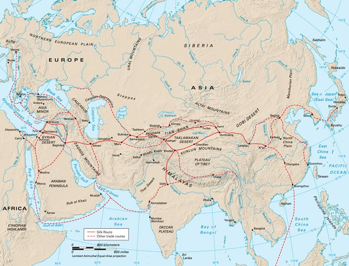 The Lost Empire that Ruled the Silk Road