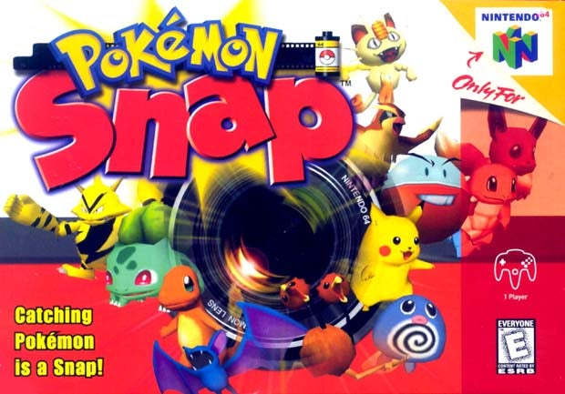 Pokémon Weren't Originally In Pokémon Snap