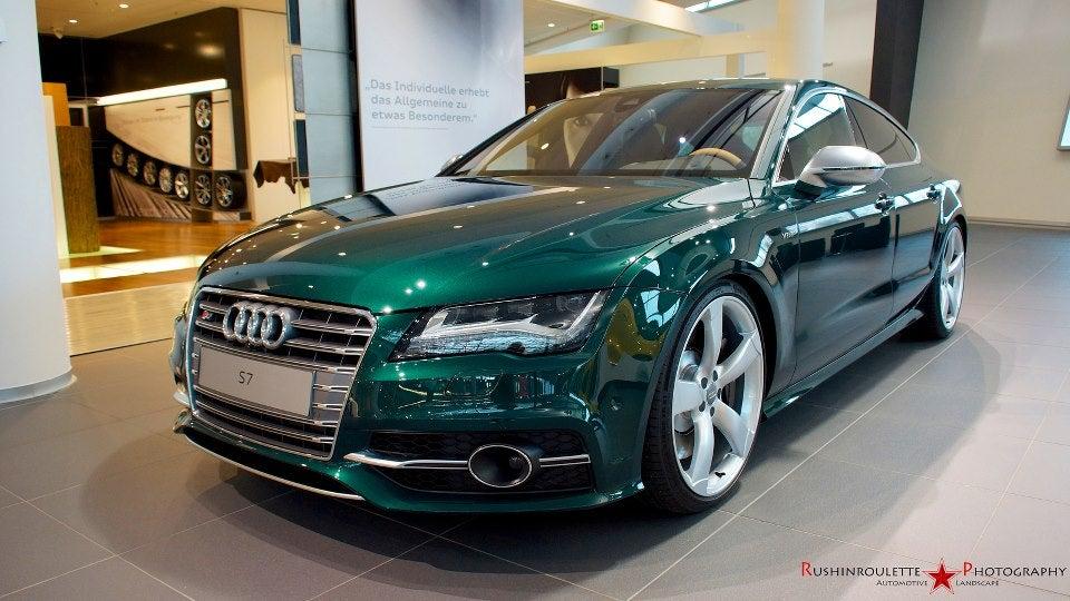 Emerald Green Car