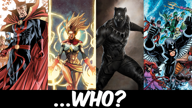 Your Guide to the next wave of Marvel's Cinematic Heroes