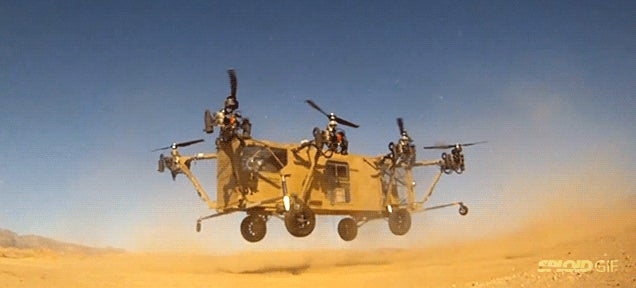 First video of the US Army flying truck in action