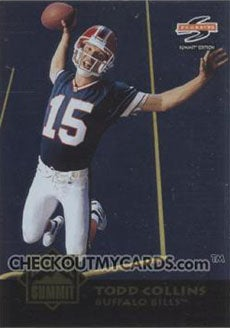 Todd Collins and the Early NFL Action