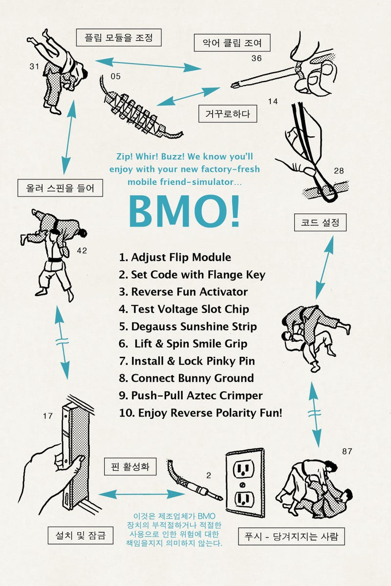 An Exclusive Look at the Owner's Manual for Adventure Time's BMO!