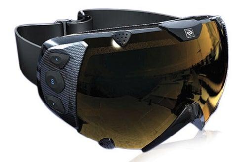Transcend Ski Goggles Feature Cyborg HUD