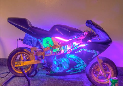Motorbike PC Mod Is As Fast As It Looks