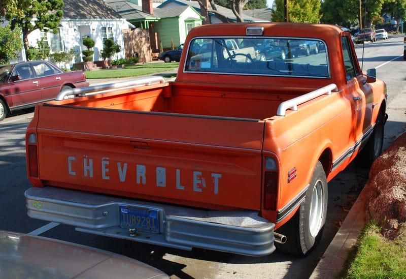 1971 Chevrolet C10 Custom Deluxe Pickup Truck