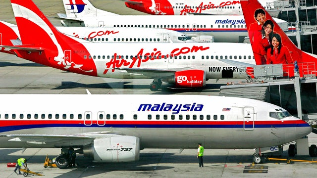 """Malaysia Airlines Competitor Says """"Your Plane Will Never Get Lost"""""""