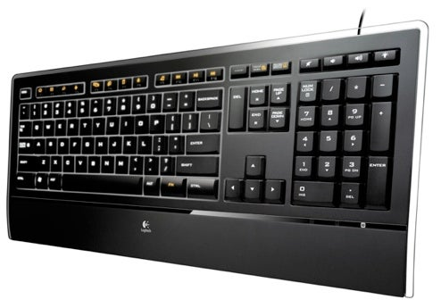 Logitech's Illuminated Keyboard Is Its Skinniest Yet