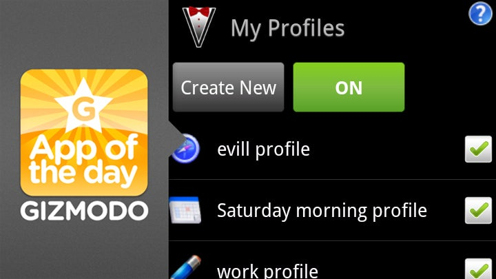 Profile Valet for Android