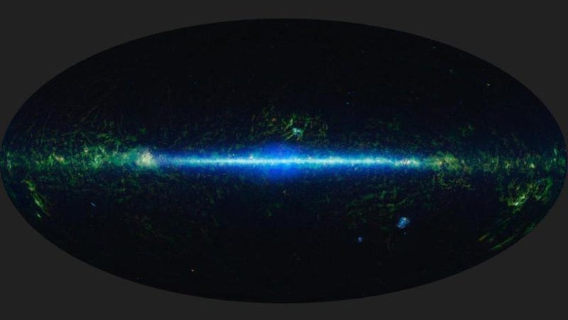 NASA releases infrared map of the entire universe