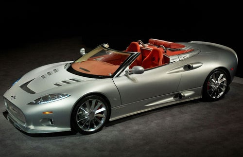 Spyker C8 Aileron Spyder: Extravagant Fighter Plane Goes Topless