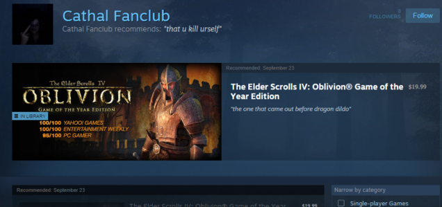 People Are Already Abusing Steam Curations