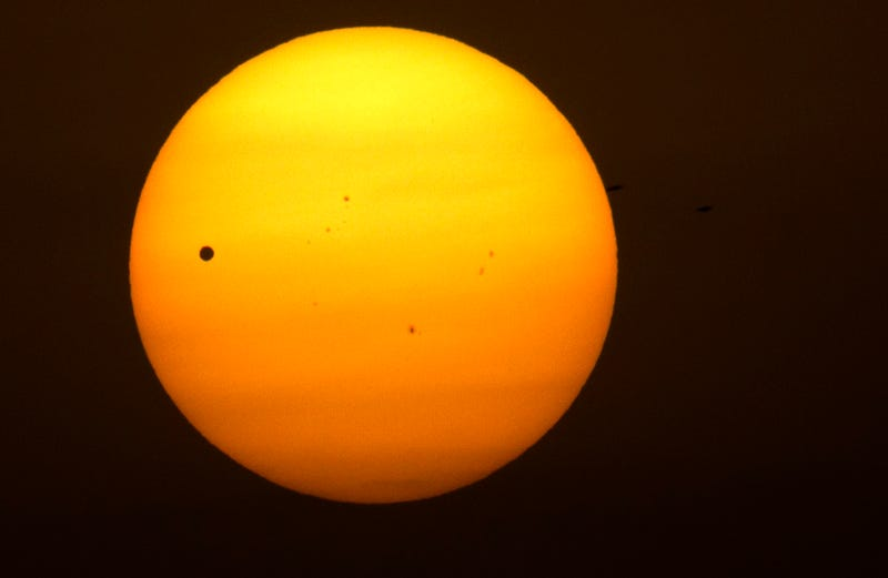 Behold The Transit of Venus In Photographs