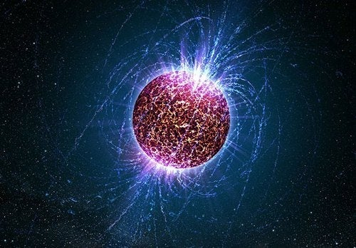 Magnetar has magnetic fields that are mysteriously intense