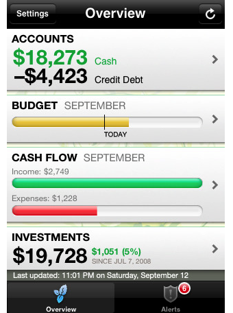 Mint for iPhone Brings 3.0 Features to the Personal Finance App