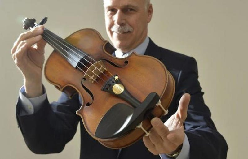 Violin Worth $7-10 Million Was Stuffed in Heiress' Closet for 25 Years