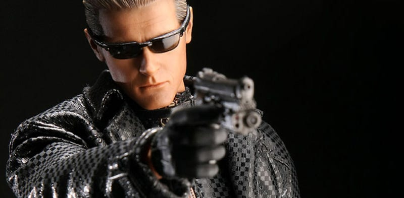 Albert Wesker Stands 12 Inches Tall