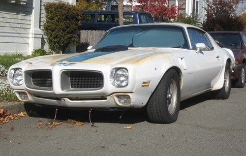 1970 Pontiac Firebird Trans Am Down On The Alameda Street