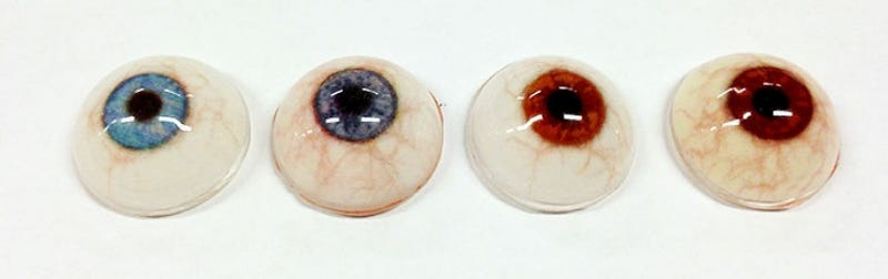 3D Printed Eyes Are Insanely Cheap Prosthetics and Look Perfect
