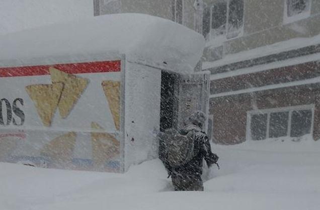 Heroes Raid Doritos Truck to Survive Buffalo's Devastating Snowstorm