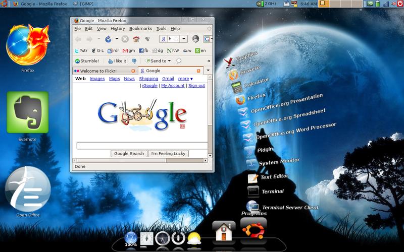 Linux Desktops Dressed Up as Macs