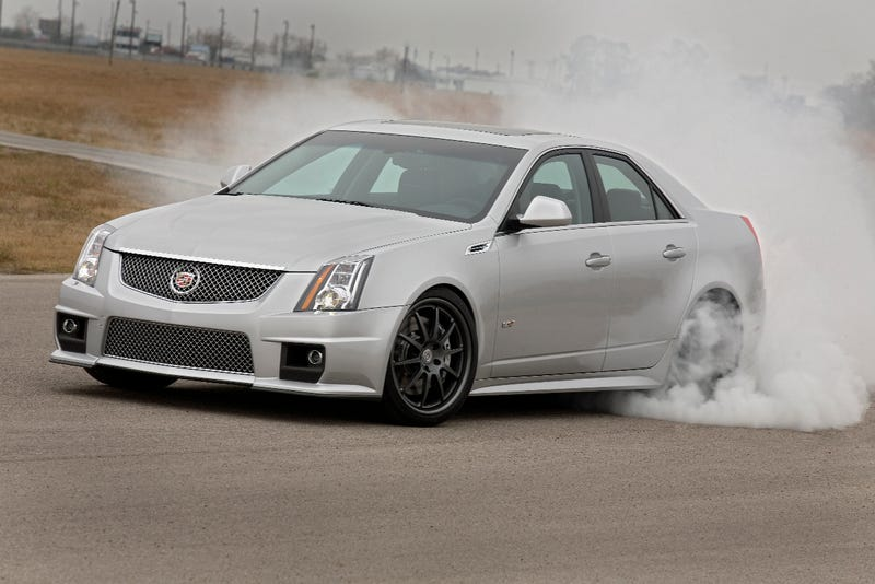 Hennessey V700 CTS-V: 700 HP, Four-Door ZR1