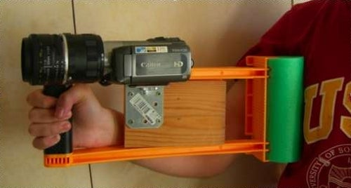 DIY Shoulder Camera Stabilizer