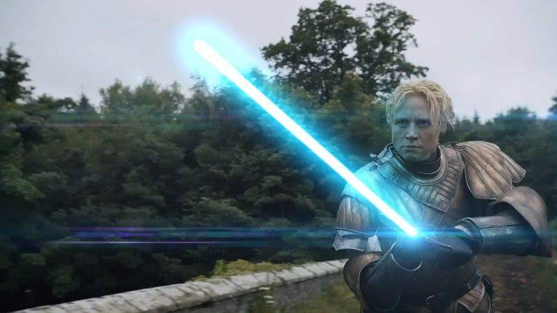 Gwendoline Christie's Rumored Episode VII Role Is Appropriately Badass