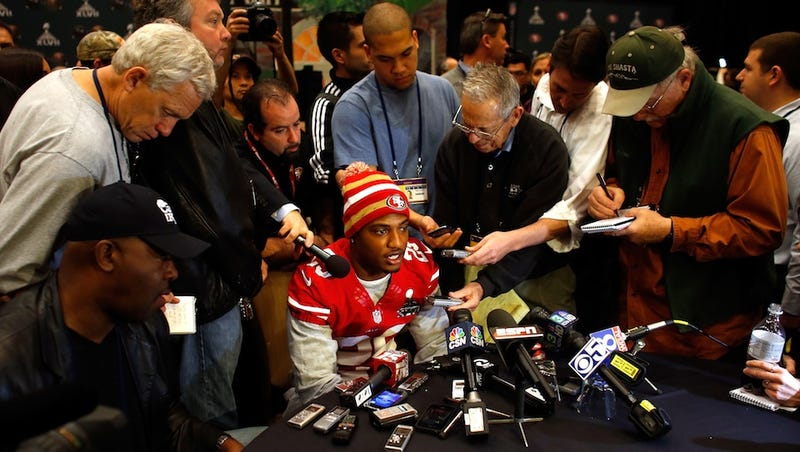 Chris Culliver Was Asked Almost 100 Questions Today About His Anti-Gay-Teammate Comments