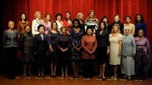 """""""This Is Going To Be The Best First Ladies Of The World Yearbook Picture Ever."""""""