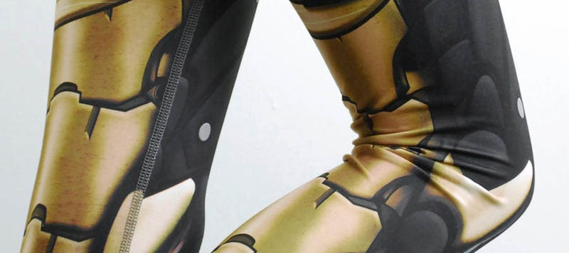 These robotic armor leggings will bring out your inner cyborg